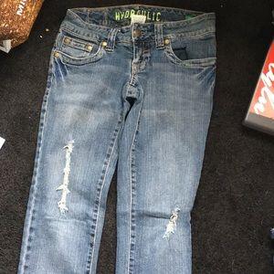 Jeans size 1/2